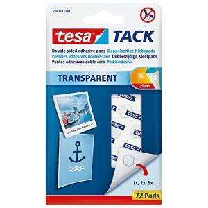 Tesa TACK Transparent 72 pastilles