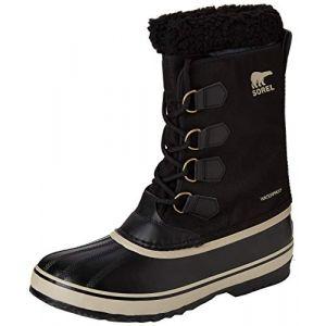 Sorel Chaussures après-ski 1964 Pac Nylon - Black / Ancient Fossil - Taille EU 42