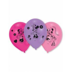 10 ballons en latex Minnie