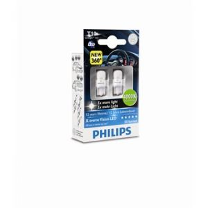 Philips 2 Ampoules T10 X-tremeVision LED 4000K