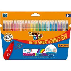 Bic 24 feutres de coloriage Kid Couleurs