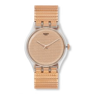 Swatch Montre Femme, homme New Gent Rose