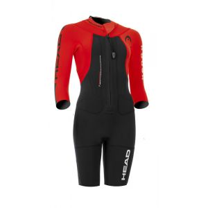 Head Swimrun Rough - Femme - rouge/noir XS Combinaisons triathlon