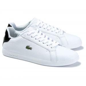Lacoste Chaussures GRADUATE 120 1 SFA - Couleur 36,37,38,39,40 1/2,37 1/2,39 1/2 - Taille Blanc