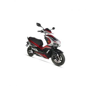 Norauto Scooter Électrique E-speed Rouge (equivalent 125cc) - 2210635