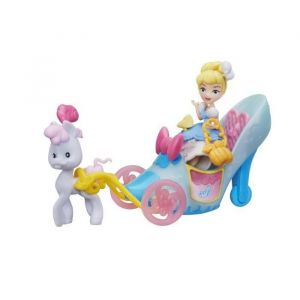 Hasbro Mini poupée Cendrillon et son carrosse Disney Princesses