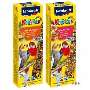Vitakraft Kräcker Grandes Perruches Miel & Eucalyptus VITOBEL