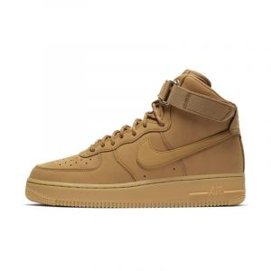 Nike Chaussure Air Force 1 High'07 pour Homme - Or - Taille 43 - Male