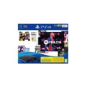 Sony Console Pack Ps4 500 Go + Fifa 21 + Points Fut + Abonnement Ps+ 14 Jours