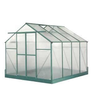 Habrita SR 3024 - Serre de jardin en aluminium 7.08 m²