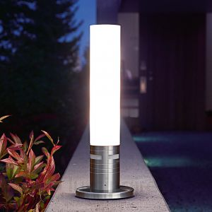 Steinel 007881 Applique GL 60 LED Inox/Verre Métallique