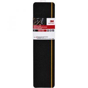 3M Bande adhésive antidérapante - 60 x 15 cm - Noir réfléchissant - Dimensions : 101 x 4,5 m - Noir réfléchissant - Pour escaliers et échelles - Intérieur et Extérieur