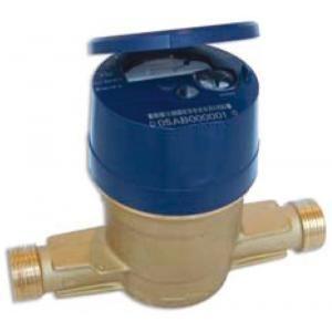 Itron AQ20QCR160V - Compteur volumétrique Aquadis pré équipé eau froide DN20 26x34mm