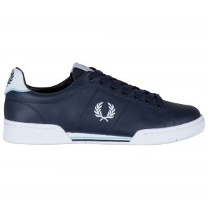 Fred Perry Baskets basses B722 LEATHER bleu - Taille 40,41,42,43,44,45