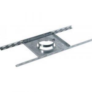 Ten Support plancher galva pour double paroi isolé Ø80-130 -