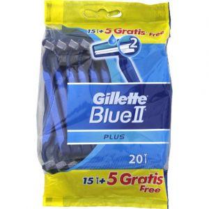 Gillette Rasoirs jetables, manche ultragrip, plaquette lubrifiante, sachet refermable