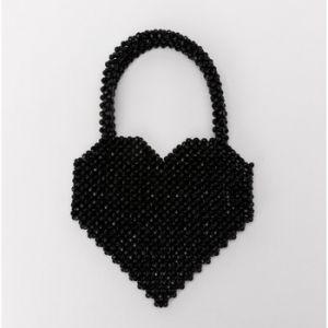 Lollipops Dearl babies - Sac à main perlé - noir