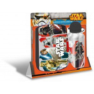 Lunch box et gourde en aluminium Star Wars