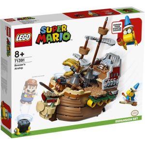 Lego Super Mario 71391 Ensemble d'extension Le bateau volant de Bowser