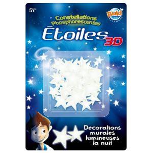 Buki France SB50 - Etoiles 3D phosphorescentes