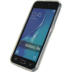 da47baa0ad8508 Mobilize 22566 - Coque gel silicone Samsung Galaxy J1 2016 Transparent
