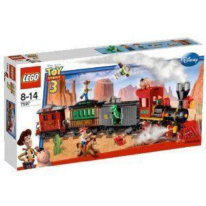 Lego 7597 - Toy Story : Course poursuite dans le train du Far West