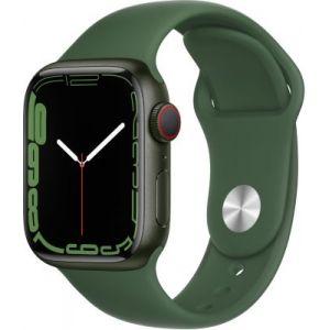 Apple Watch Series 7 GPS + Cellular Aluminium Vert Bracelet Sport 41 mm