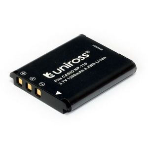 Uniross Batterie pour appareil photo numérique Casio NP-110 - Li-Ion - 3,7V - 1200 mAh