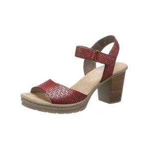 Rieker V1589 Femme Sandale à lanières,Sandales à lanières,Chaussures d'été,Confortables,medoc/35,38 EU / 5 UK