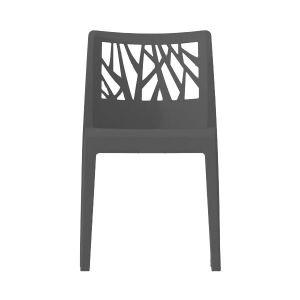 Grosfillex Chaise de jardin monobloc Vegetal en résine
