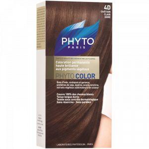 Phyto Paris Phytocolor 4D Châtain Clair Doré - Coloration soin permanente haute brillance