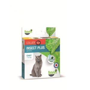 Naturly's Octave Collier Insect Plus pour chat