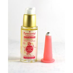 Puressentiel Elixir - Huile de soin du visage Bio-Immortelle et rose musquée + 1 Ventouse Lift Vac