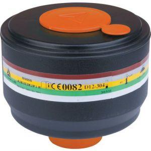 Delta Plus Boîte de 4 cartouches filtrantes A2B2E2K2P3 pour masques complets M9200 ROTOR GALAXY et M9300 STRAP GALAXY -M9000EABEK2P3