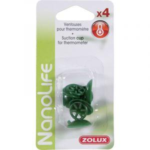 Zolux Pack 4 Ventouses Thermomètre Pour Aquarium