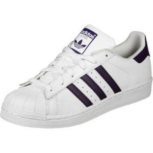 Adidas Chaussures Chaussure Superstar Blanc - Taille 36,36 2/3