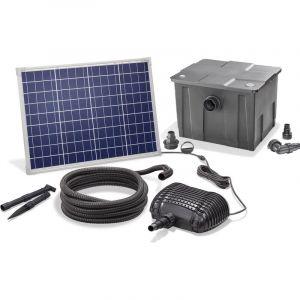 Esotec Kit de filtres solaires pour bassin 50/2500 Pompe solaire Filtre externe pour bassin de jardin 101080
