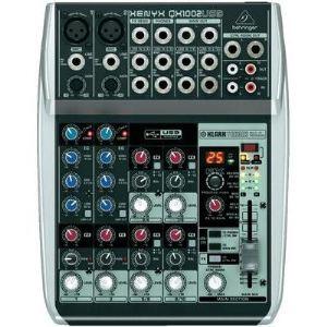 Behringer Xenyx QX1002USB - Table de mixage