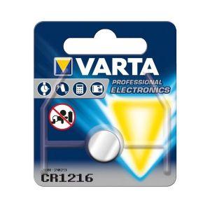 Varta CR1216 Lithium 3v-25mah 6216.801.401