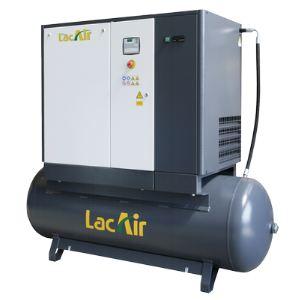 Lacme Centrale VS 15 / 500 SC - Compresseur à vis triphasé 15 CV sur cuve 500 litres avec sécheur (469310)