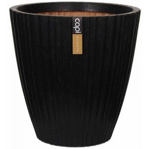 Capi Pot à fleurs Urban Tube Conique 40 x cm Noir PKBLT801