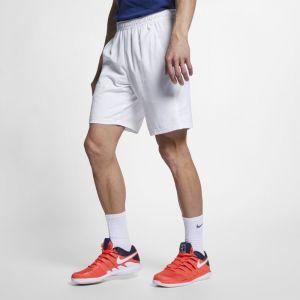 Nike Short de tennis Court Dri-FIT 23 cm pour Homme - Blanc - Taille XL - Homme