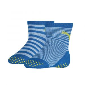 Puma Chaussettes -underwear Baby Sock Abs 2 Pack - Blue Green Combo - Taille EU 19-22