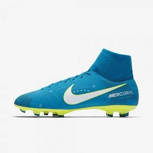 Nike Chaussures de foot Mercurial victory fit fg bleu - Taille 42