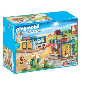 Playmobil 70087 - Grand camping Family Fun