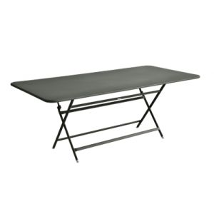 Fermob Table pliante Caractère / 90 x 190 cm - 8 à 10 personnes romarin en métal