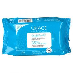 Uriage Eau micellaire thermale - 25 lingettes démaquillantes
