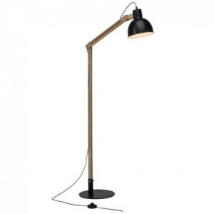 Brilliant AG Lampadaire scandinave design Brilliant Elias Noir Métal 94919/76