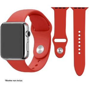 Ibroz Bracelet Apple Watch SoftTouch 40mm rouge