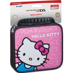 Bigben Sacoche de transport Hello Kitty pour Nintendo 2DS